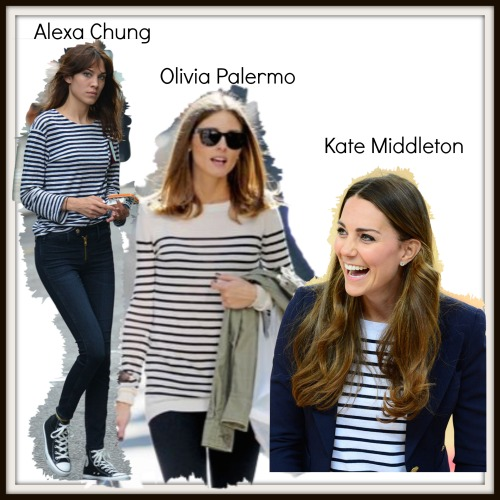 Celeb collage breton stripe