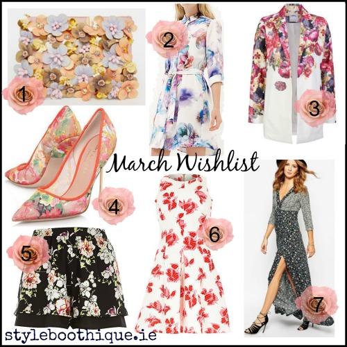 March wishlist
