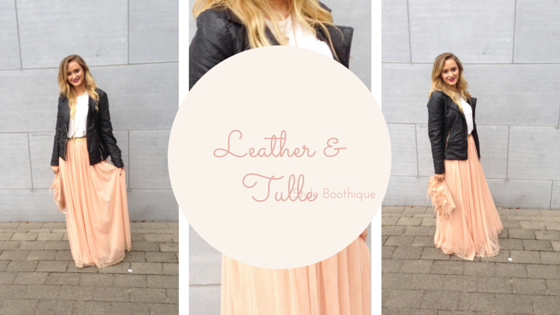 Leather and Tulle