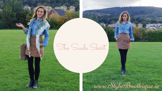Styling the Suede Skirt